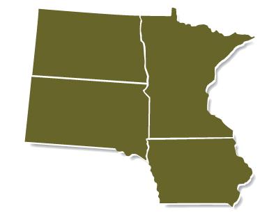 Serving contractors in Minnesota, Iowa, North Dakota, and South Dakota